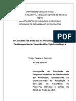 O Conceito de Holismo na Psicologia Brasileira Contemporânea
