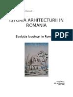 Arhitectura locuinței tradiționale