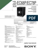 HCD-EC68P_78P Manual de Servicio