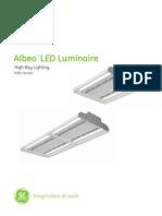 Iluminacion LED Albeo GE
