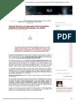 Preparémonos Para El Cambio_ Antonio Romero y Su Generador Electromagnético OMEGA RF-5000 [Actualizado Con Video] ENERGIA LIBRE