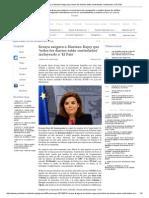 Soraya Asegura a Mariano Rajoy Que 'Todos Los Diarios Están Controlados' Incluyendo a 'El País'