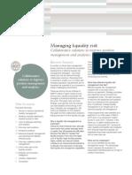 SWIFT White Paper Managing Liquidity  Risk Collaborative Solutions June 2011