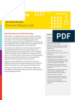 Muse Live(Livechannel) Datasheet