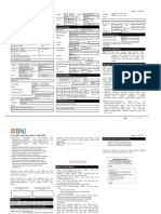 Formulir Aplikasi Kartu Kredit BNI