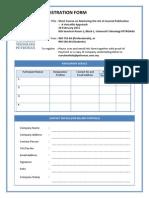 Registration Form Writing Var Setile