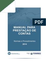 Manual Prestação de Contas FEM