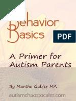 Behavior Basics Volume 1 MARAD