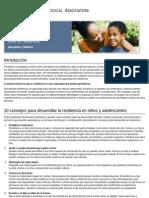 Guía de Resiliencia_ Para Padres y Maestros