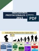 Indicadores Prestacionales Capita 2015