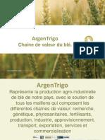 ArgenTrigo - Chaîne de valeur du blé.