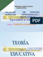 Video - 1er Tema -Teoría de La Educación- Jcm