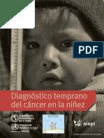 AIEPI Diagnostico Temprano del Cancer en la Niñez 2014