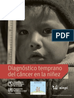 AIEPI Diagnostico Temprano del Cancer en la Niñez 2014
