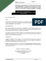 Directiva de Reclamos