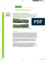 WWF-Tanzania Fact Sheet