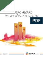 ISPO MUNICH 2015 Catalogo Productos Premiados