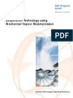 Evaporation Technolgy Mechanical Vapour Recompression_GEA_Wiegand_en