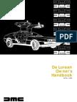 DeLorean Owners Manual