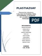 Planeacion Tributaria Plastiazuay