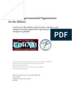 Guide to Non-Governmental Organizations for the Military