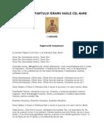 Acatistul Sf Vasile