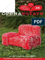 Operaestate Festival Veneto programma 2014