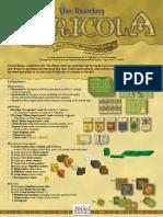 Agricola Rulebook