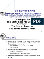Proposed Edmserms Application Standards