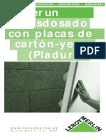 Como aplicar placas de yeso en techos y paredes - 1.pdf