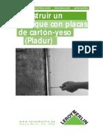 Como aplicar placas de yeso en techos y paredes - 2.pdf