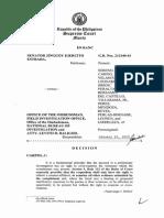 Senator Jinggoy Estrada v. Office of the Ombudsman by Justice Antonio T. Carpio