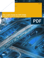 SAP HANA File Loader Guide