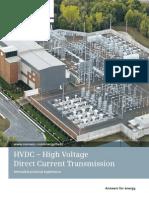 HVDC Transmission en Corriente Continua
