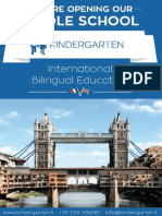 Kindergarten International Middle School