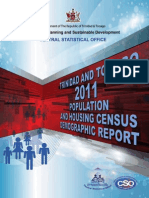 Trinidad and Tobago 2011 Demographic Report