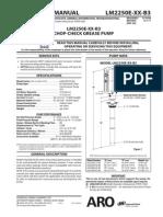 IR Grease Pump Catalouge LM2250E-XX-B3-En