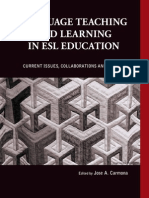 Language Teaching and Learning in ESL Classroom