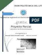 Proyecto Primer Parcial de Microcontroladores