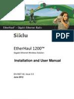 Siklu Eh-1200 Install & User Manual - Eh-Instl-02_issue3 (June 2012)_0