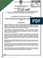Decreto 941 Del 21 de Mayo de 2014