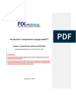FIXatdl-1 1-Specification With Errata 20101221