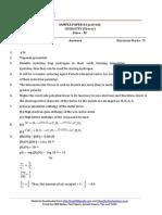 11 Chemistry Solved sample paper