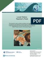 Teachers Pack - Local History