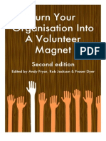 'turn your organisation into a volunteer magnet'