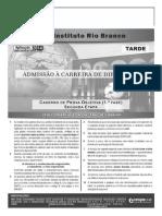 Instituto Rio Branco - Concurso de Admissão à Carreira de Diplomata Tarde