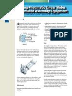 Selecting Pneumatic Linear Slides