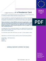 """Old"" EEA 2 Residence Card Form"