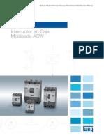 WEG Interruptores en Caja Moldeada Acwh 50026004 Catalogo Espanol