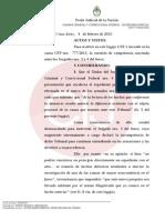 La Cámara dispuso que Rafecas investigue la denuncia de Nisman